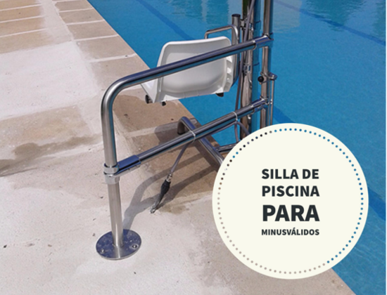 Silla minusv lidos piscina precio madrid salvaccesos for Sillas para piscina